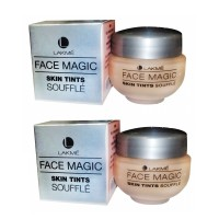 Lakme Face Magic Skin Tints Souffle - Natural Pearl (30ml) x 2 Quantities